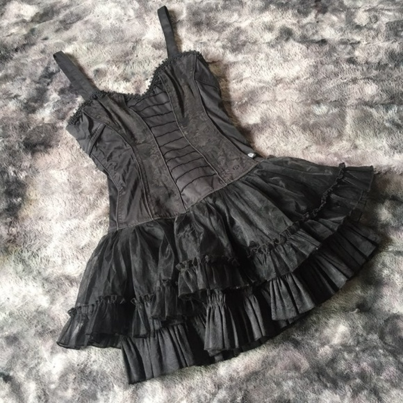 Tripp nyc Dresses & Skirts - Tripp Lace Bustier Dress